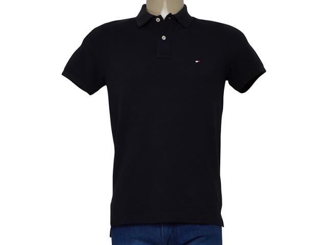 Camisa Masculina Tommy Th0857894237 Preto