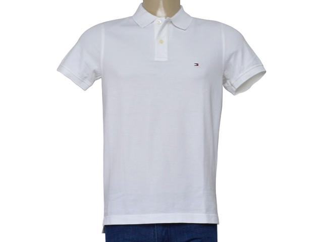 Camisa Masculina Tommy Th0857894237 Off White