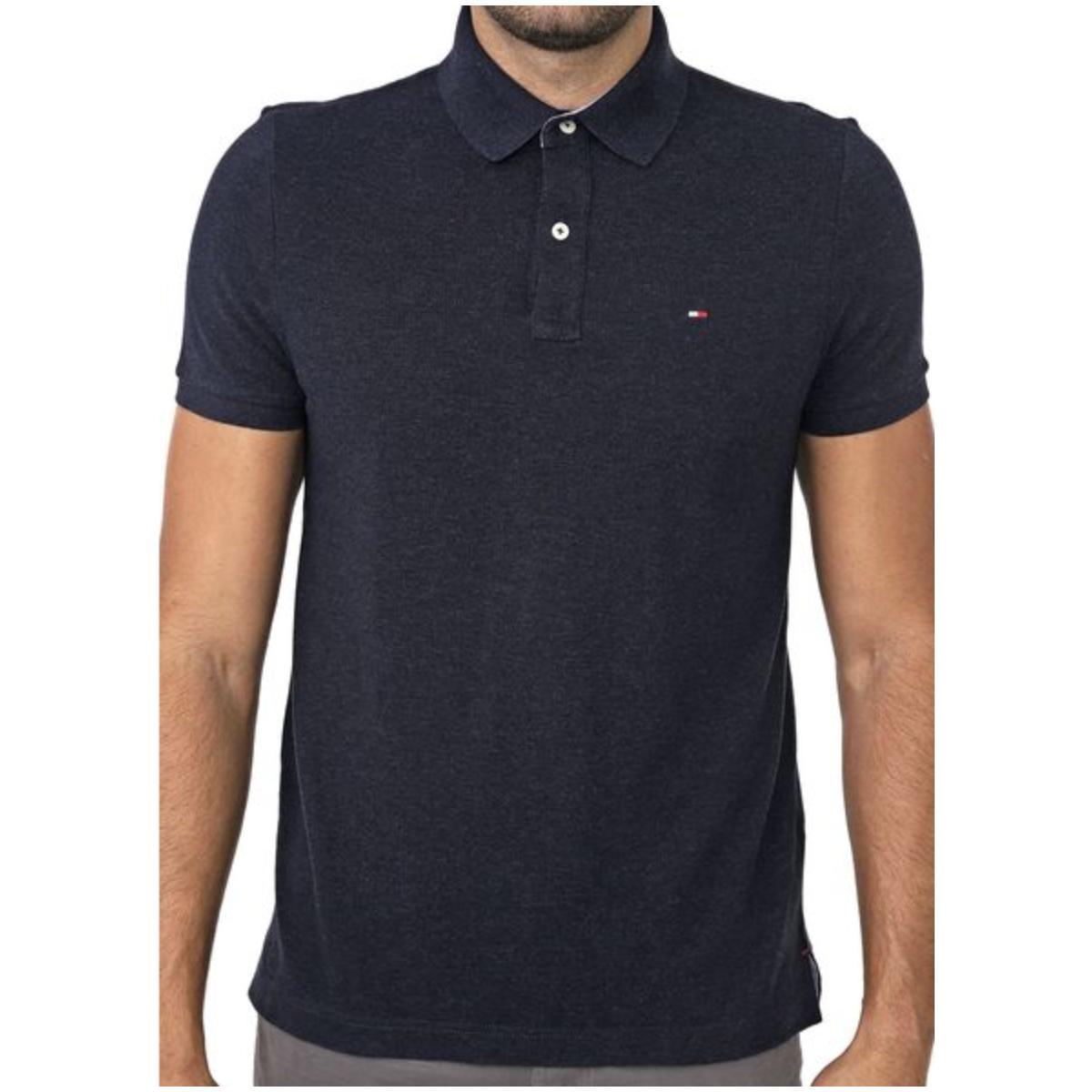Camisa Masculina Tommy Th7803120 411 Marinho