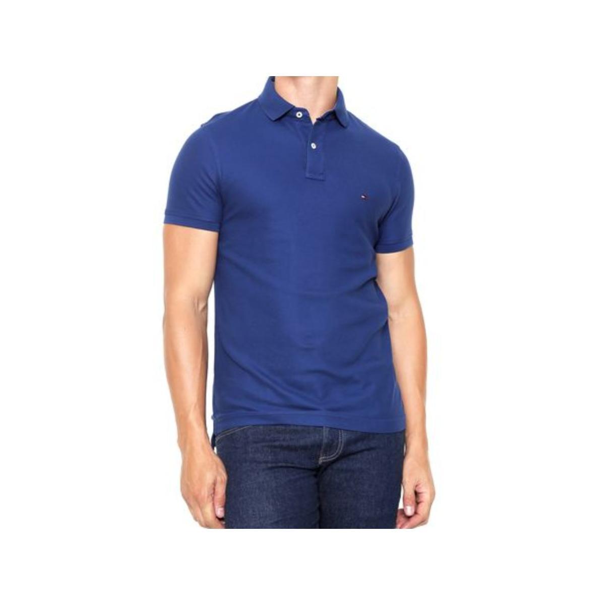 Camisa Masculina Tommy Th0857889250 Marinho