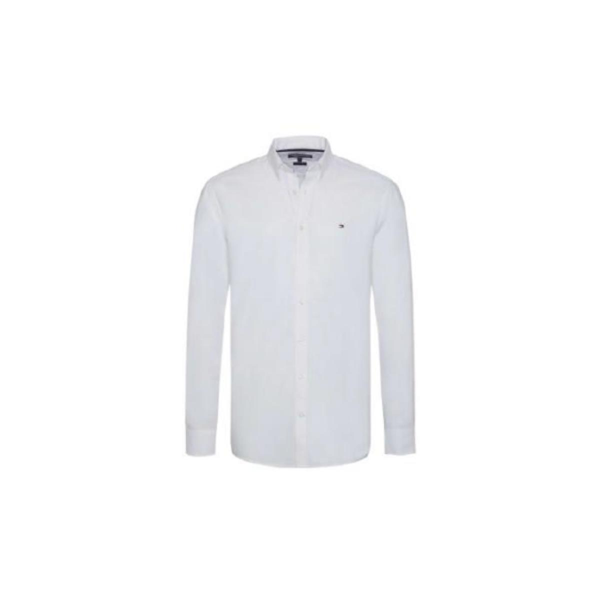 Camisa Masculina Tommy Th78d9423 Th112 Off White