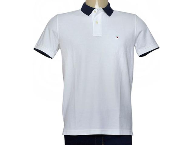 Camisa Masculina Tommy Th0887879046 Branco