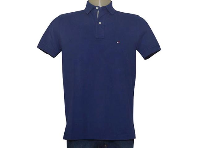 Camisa Masculina Tommy Th0857883405 Marinho