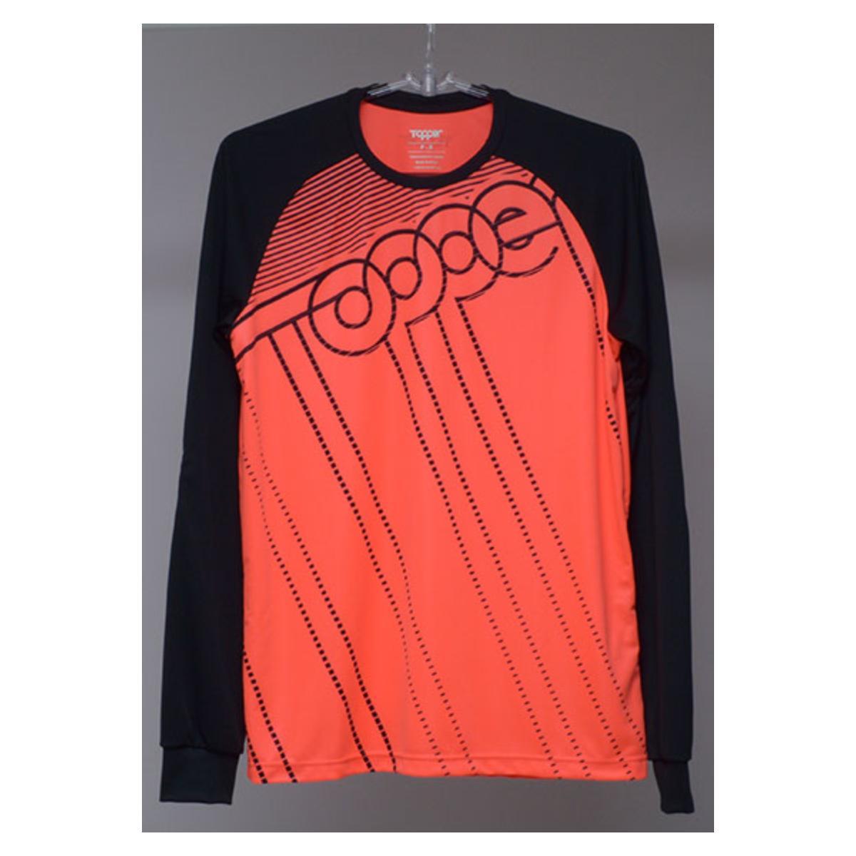 Camisa Masculina Topper 4319041 Goleiro Classic Laranja
