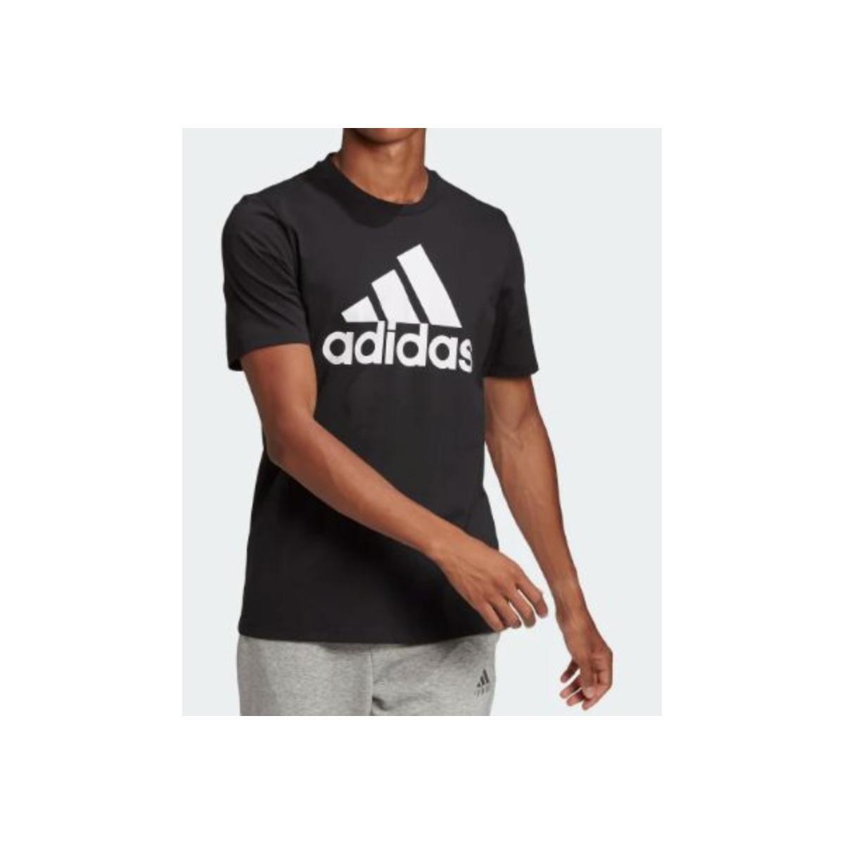 Camiseta Masculina Adidas Gk9120 Essentials Preto