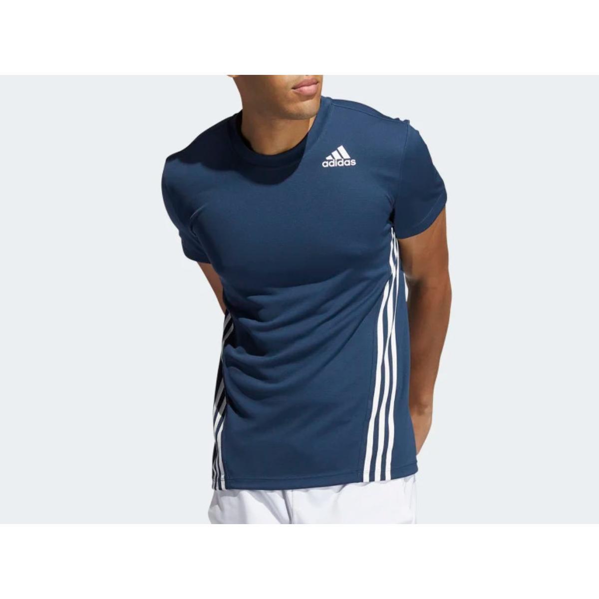 Camiseta Masculina Adidas Gm1066 Aero Marinho