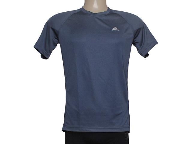 Camiseta Masculina Adidas M31253 Clima Ess Chumbo