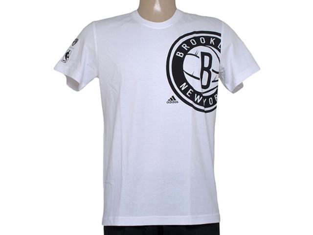 Camiseta Masculina Adidas Aa7993 Clu pt Nba Branco