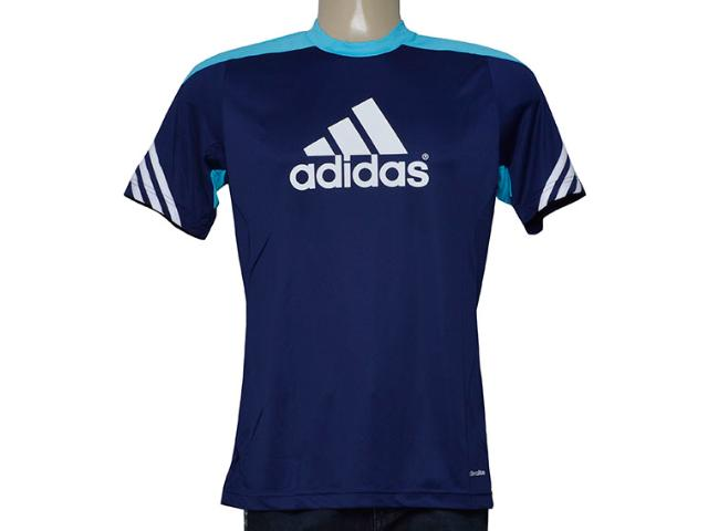 Camiseta Masculina Adidas F49701 Sere 14 Trg Marinho/azul