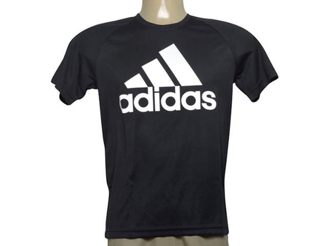 Camiseta Masculina Adidas Bk0937 D2m Tee l Preto