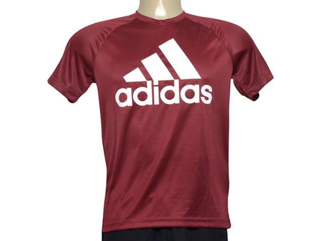 Camiseta Masculina Adidas Cz5321 D2m Tee l Vinho