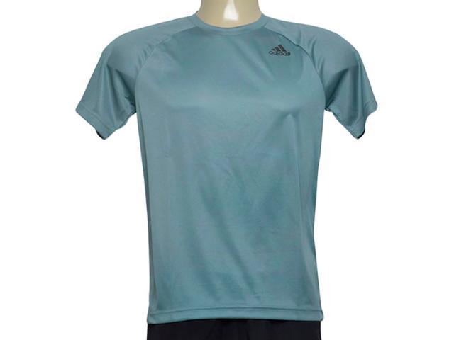 Camiseta Masculina Adidas Cz5298 D2m Tee p Verde