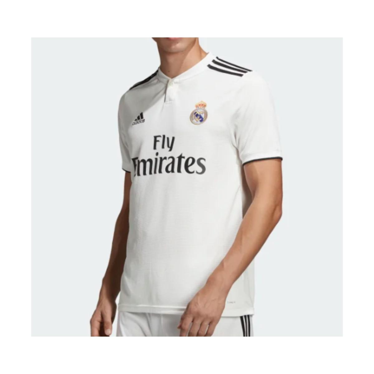 Camiseta Masculina Adidas Dh3372 Real Madri Branco/preto