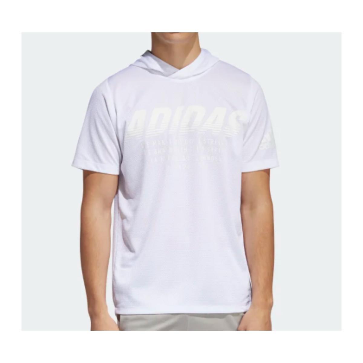 Camiseta Masculina Adidas Dy0742 Daily Hoody Tee Branco