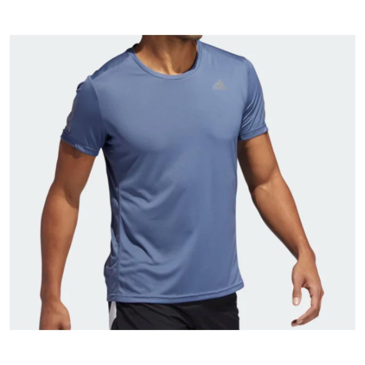Camiseta Masculina Adidas Dz9005 Own The Run m Azul