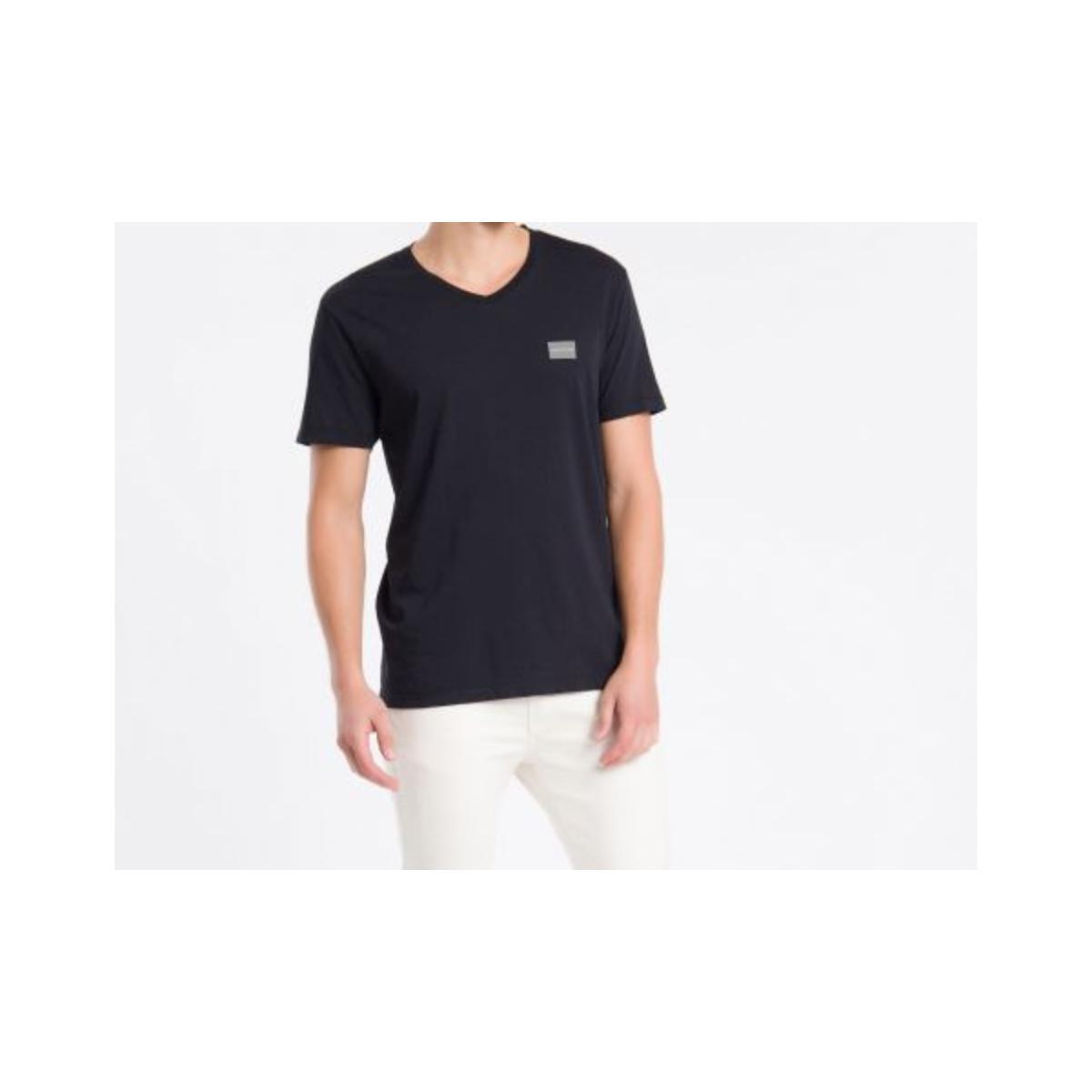 Camiseta Masculina Calvin Klein Ckjm100 Preto