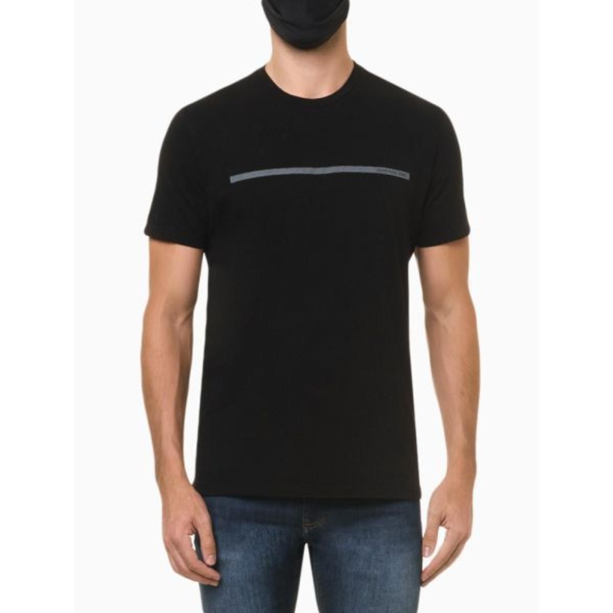 Camiseta Masculina Calvin Klein Ckjm102 Preto