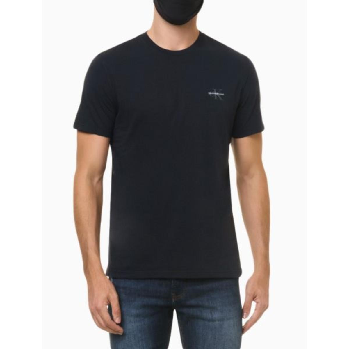 Camiseta Masculina Calvin Klein Ckjm103 Marinho