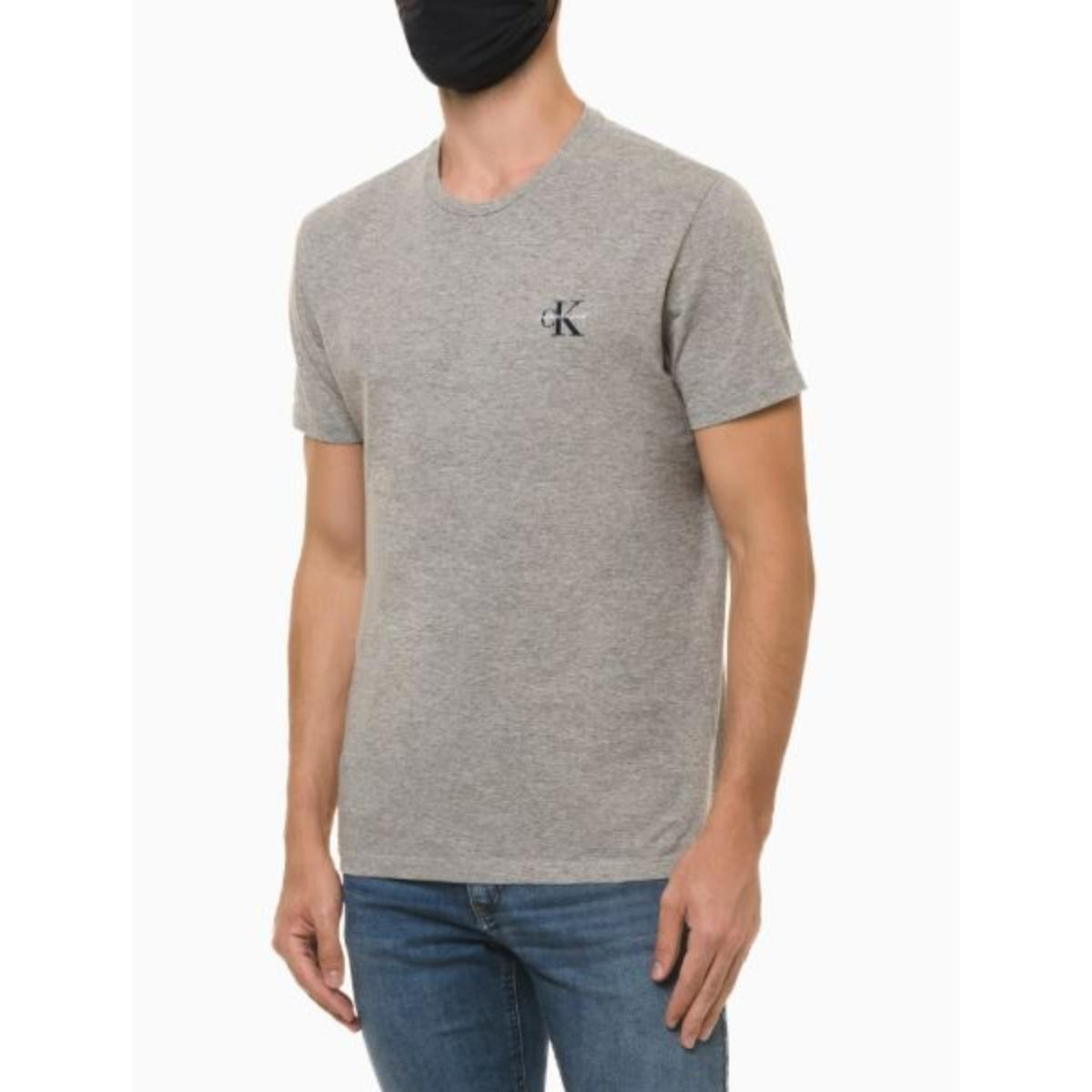 Camiseta Masculina Calvin Klein Ckjm103 Mescla