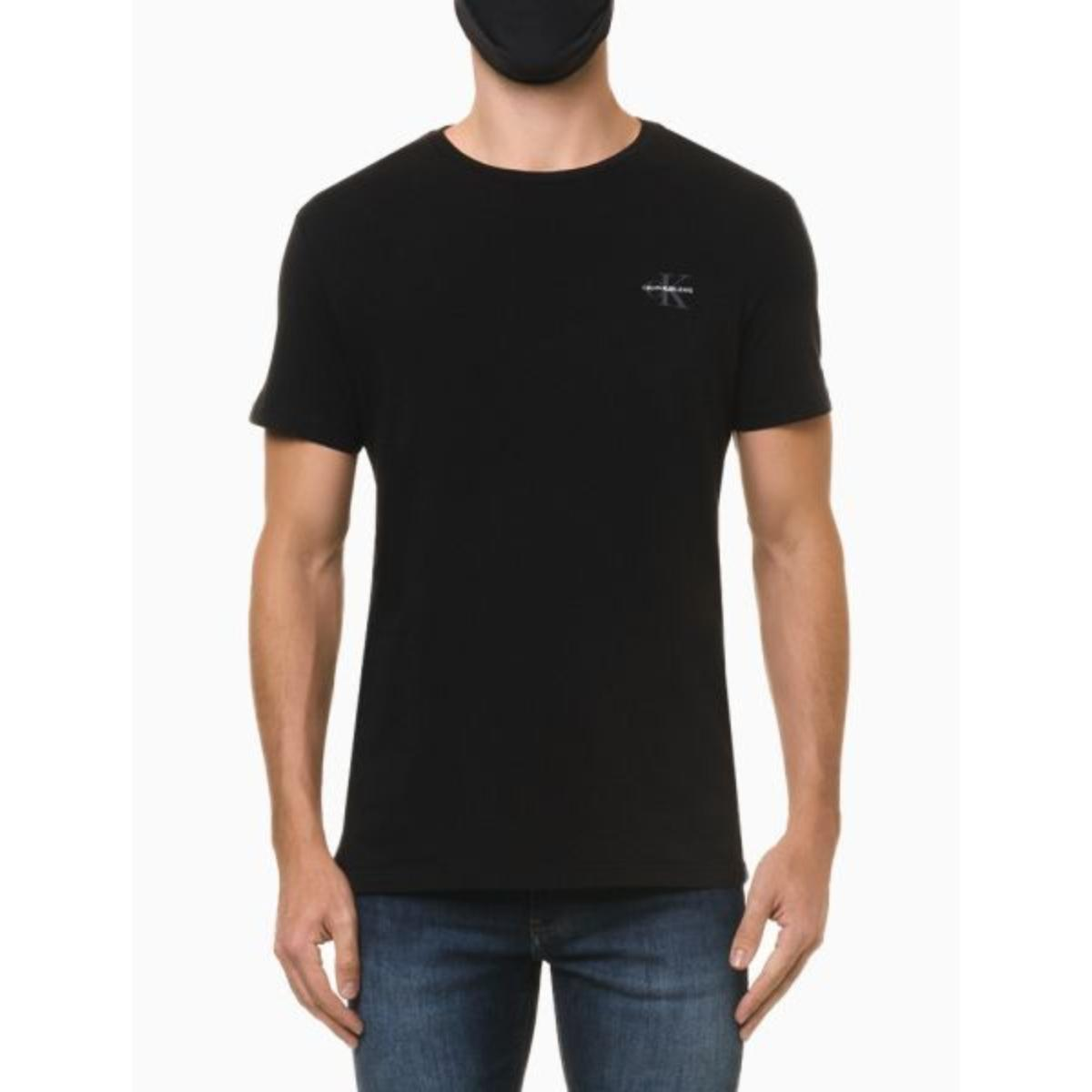 Camiseta Masculina Calvin Klein Ckjm103 Preto