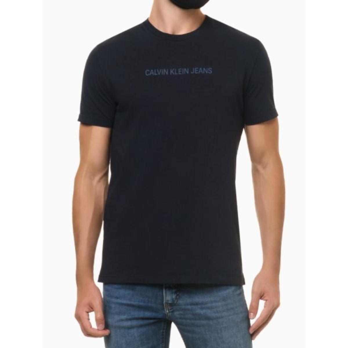 Camiseta Masculina Calvin Klein Ckjm106 Marinho