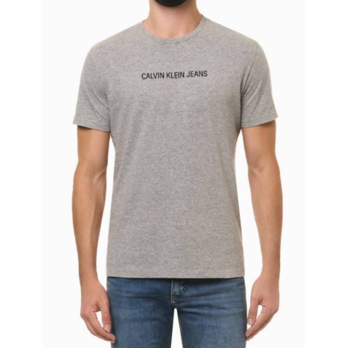 Camiseta Masculina Calvin Klein Ckjm106 Mescla