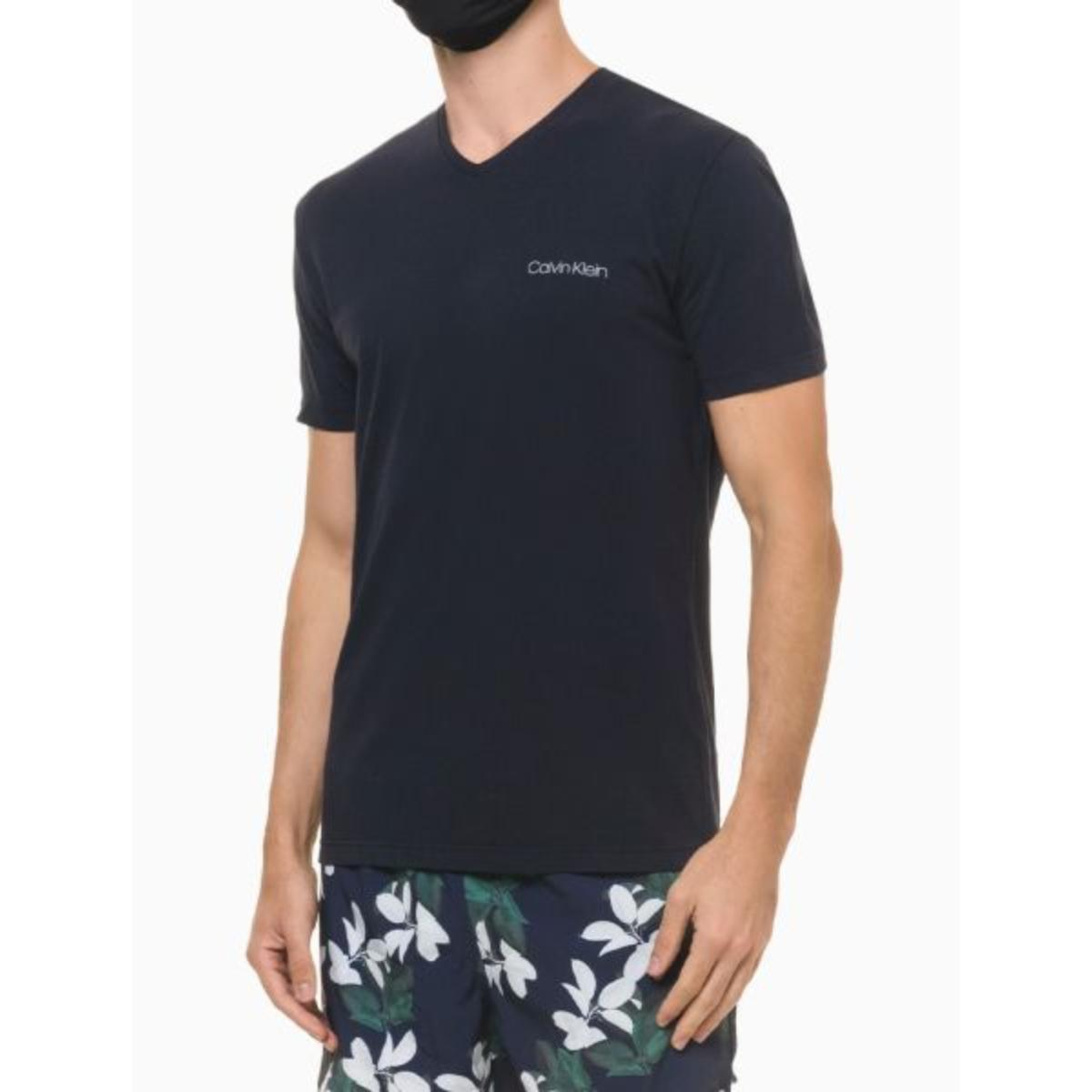 Camiseta Masculina Calvin Klein Cm1os01i3020 Marinho