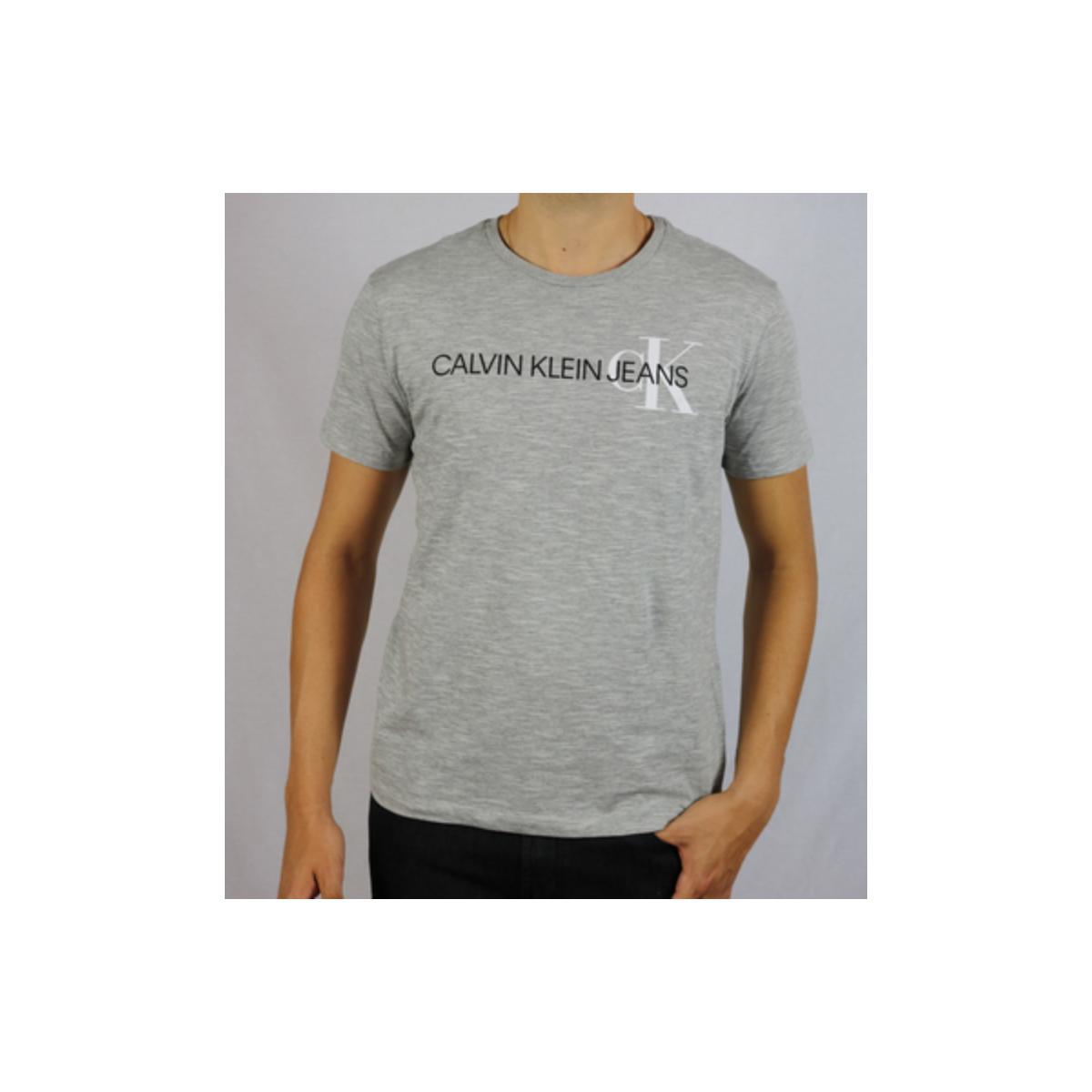 Camiseta Masculina Calvin Klein Cm0oc01tc863 Mescla