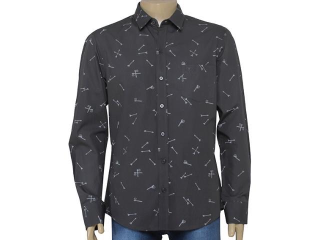 Camiseta Masculina Cavalera Clothing 02.01.1278 Chumbo