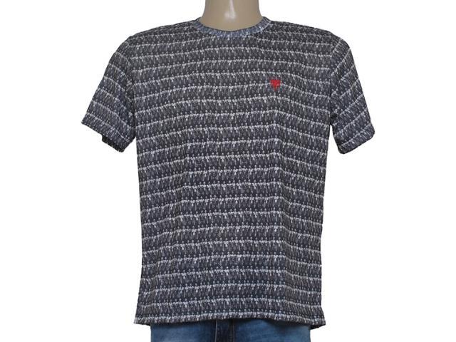 Camiseta Masculina Cavalera Clothing 01.01.8547 Preto