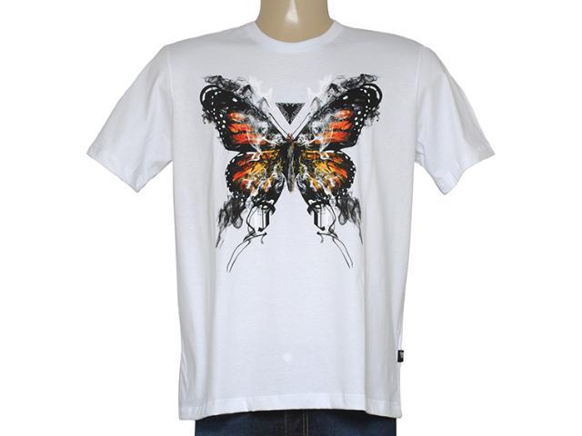 Camiseta Masculina Cavalera Clothing 01.01.8686 Branco