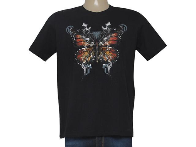 Camiseta Masculina Cavalera Clothing 01.01.8686 Preto