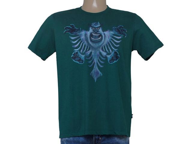 Camiseta Masculina Cavalera Clothing 01.01.8661 Verde