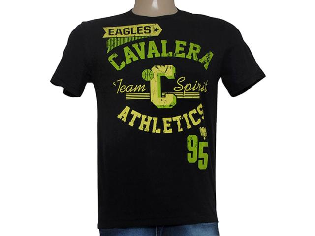 Camiseta Masculina Cavalera Clothing 01.01.8643 Preto