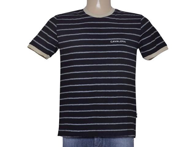 Camiseta Masculina Cavalera Clothing 01.01.8929 Preto
