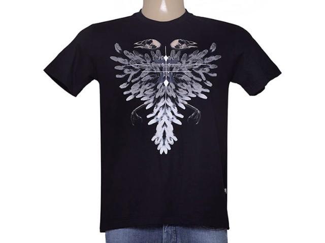 Camiseta Masculina Cavalera Clothing 01.01.8948 Preto