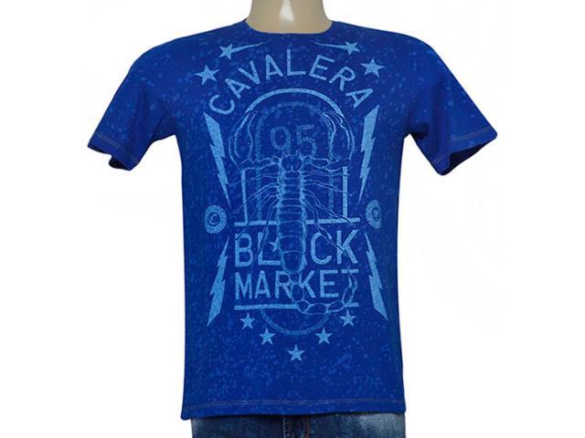 Camiseta Masculina Cavalera Clothing 01.01.9044 Royal