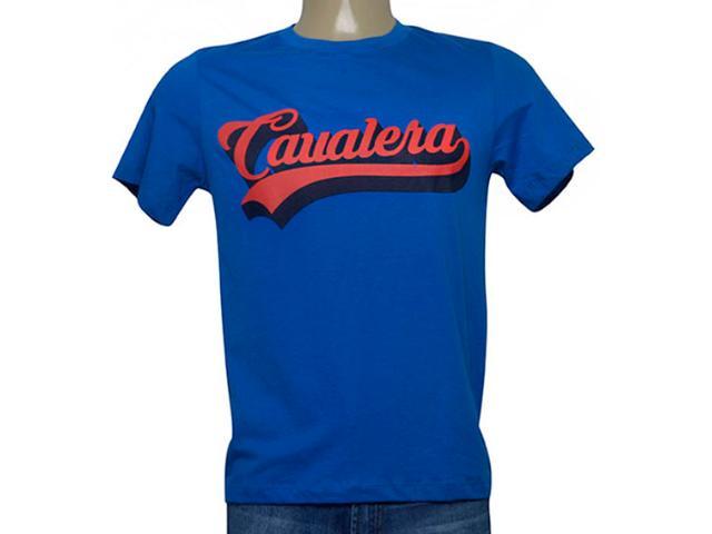 Camiseta Masculina Cavalera Clothing 01.20.0177 Royal