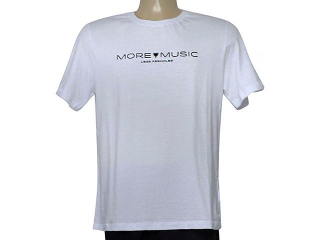 Camiseta Masculina Cavalera Clothing 01.20.0212 Branco
