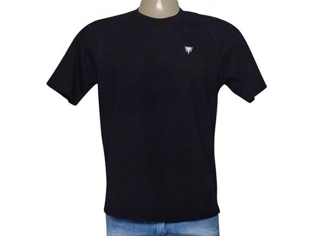 Camiseta Masculina Cavalera Clothing 01.01.9197 Preto