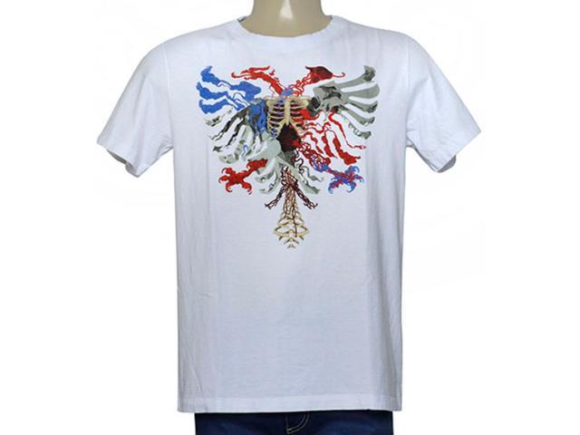 Camiseta Masculina Cavalera Clothing 01.01.9979 Branco