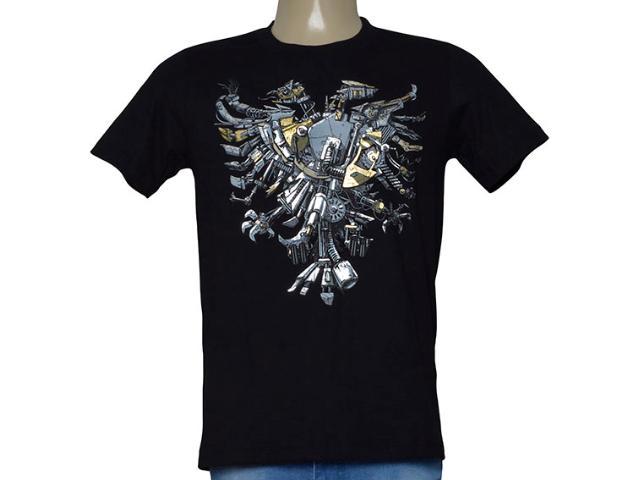 Camiseta Masculina Cavalera Clothing 01.01.9978 Preto