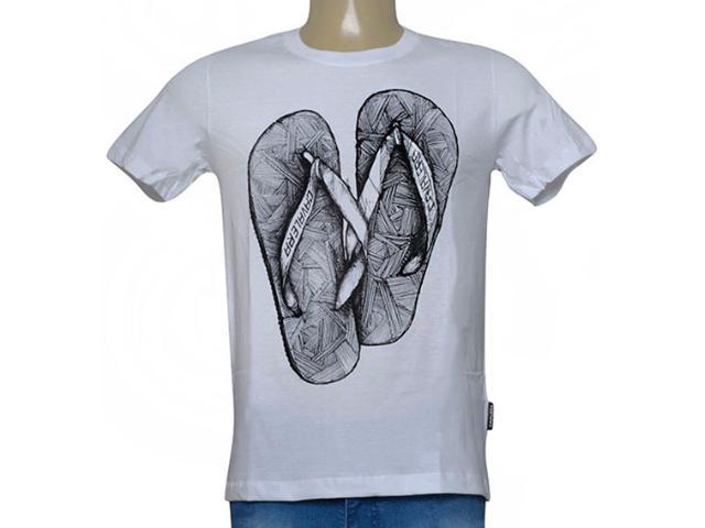 Camiseta Masculina Cavalera Clothing 01.20.0039 Branco