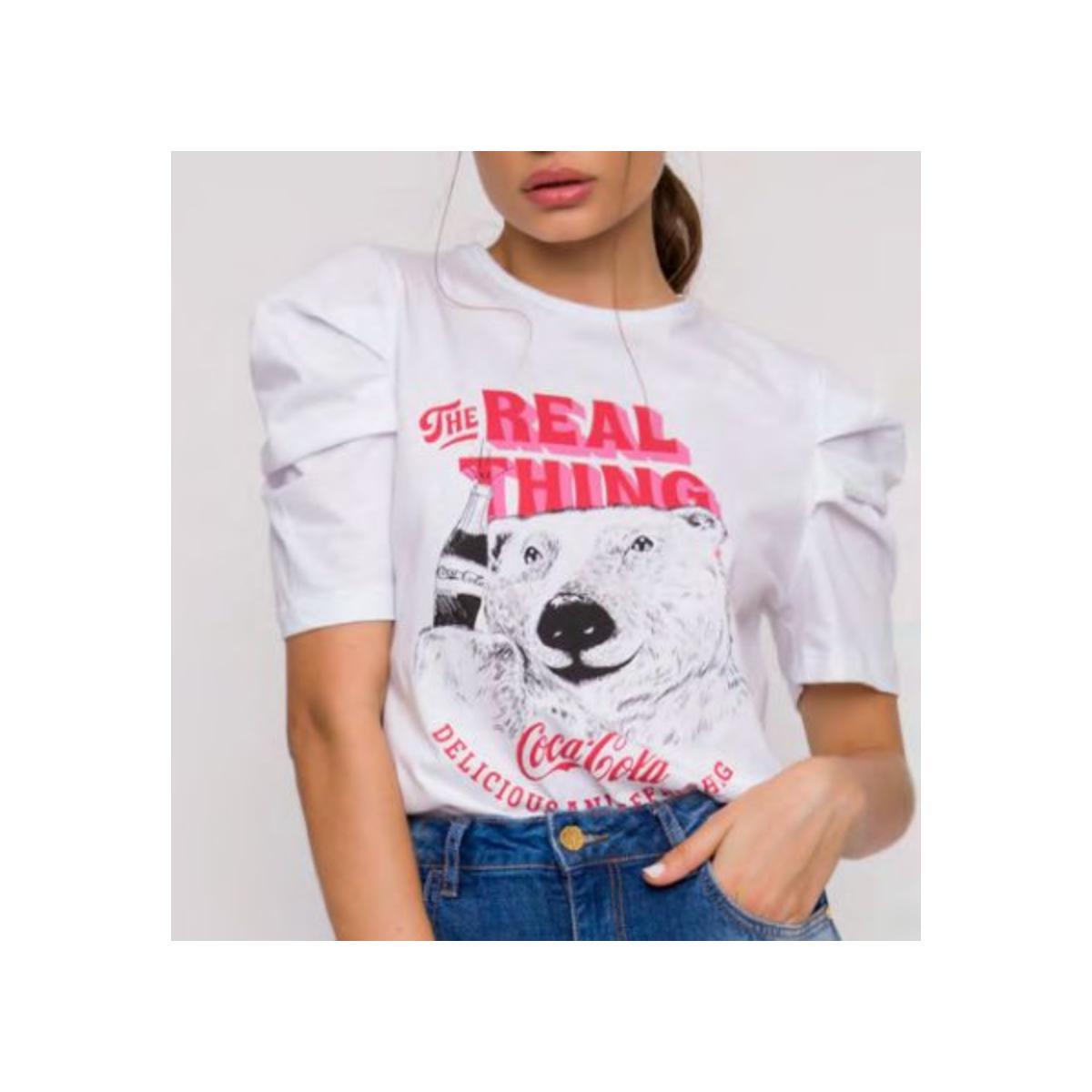 Camiseta Feminina Coca-cola Clothing 343203370 001 Branco