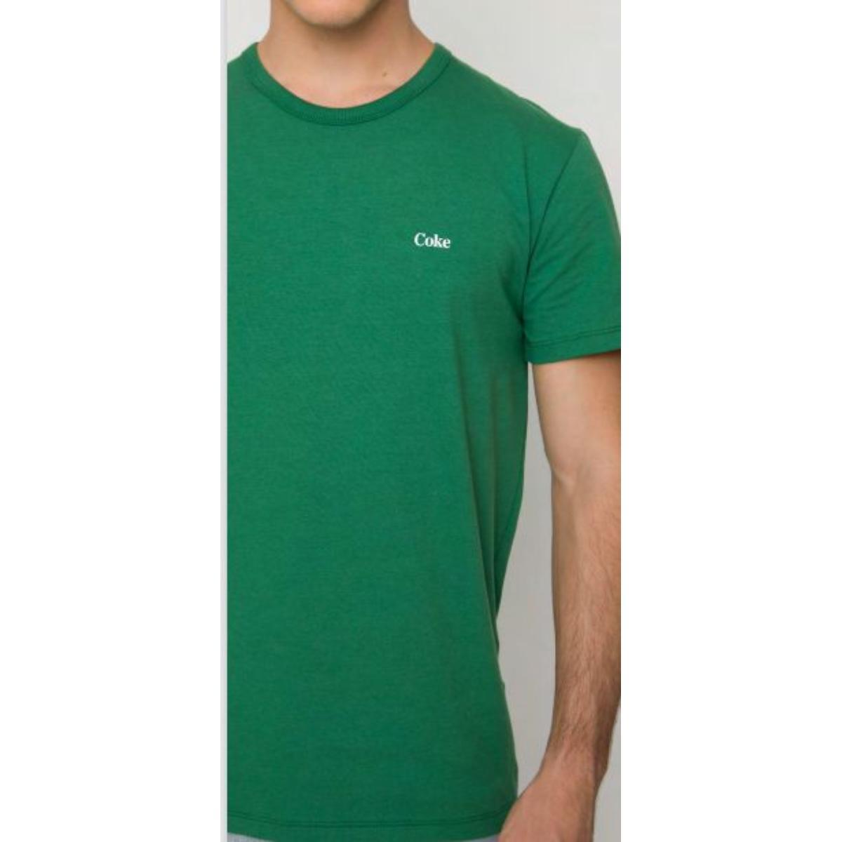 Camiseta Masculina Coca-cola Clothing 353207421 39012 Verde