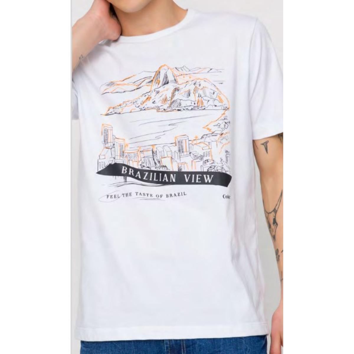 Camiseta Masculina Coca-cola Clothing 353207473 001 Branco