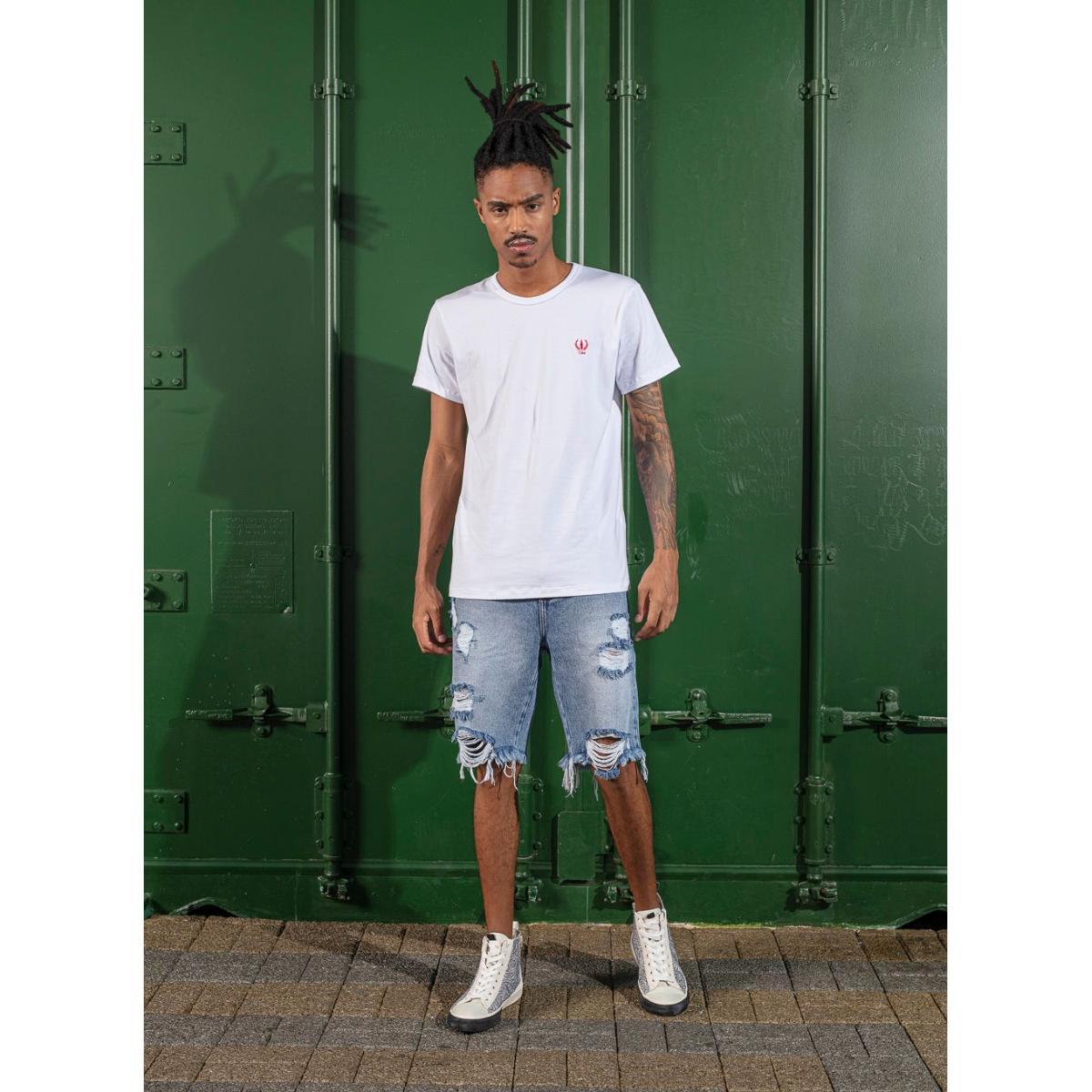 Camiseta Masculina Coca-cola Clothing 353207579 001 Branco