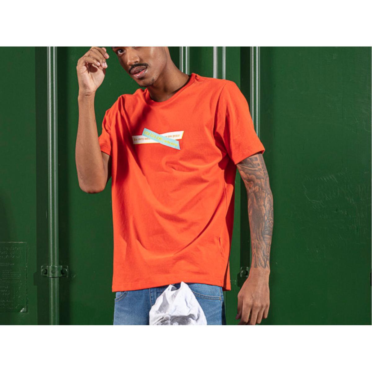 Camiseta Masculina Coca-cola Clothing 353207597 53708 Laranja