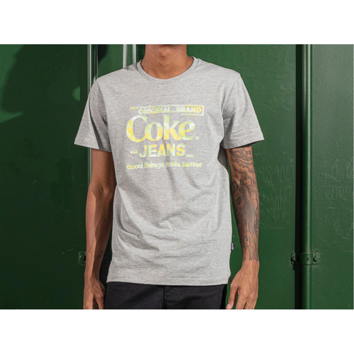 Camiseta Masculina Coca-cola Clothing 353207598 63007 Mescla