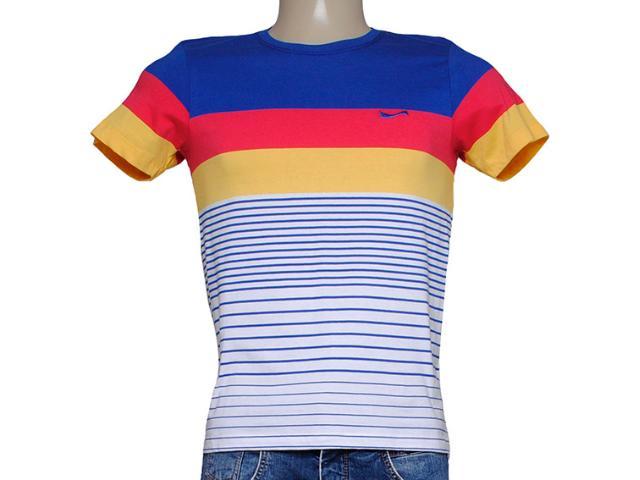 Camiseta Masculina Coca-cola Clothing 353204008 Azul/vermelho/amarelo